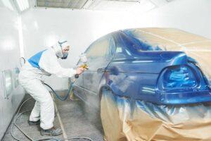 repeindre la carrosserie de votre voiture